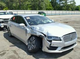 Salvage Lincoln MKZ